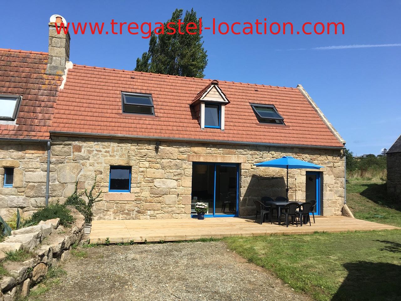 Location Maison Tregastel